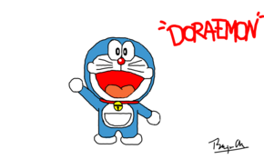 sketch #5114 Doraemon by Carrieann Benthem