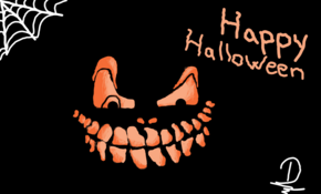 sketch 5137 Happy Halloween! by Guillaume Ballieu
