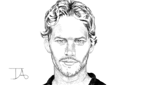sketch 5188 Paul Walker by Taï Marsan