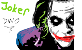 sketch #519 The Joker