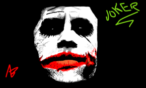 sketch 2446 Joker by sketchmaster