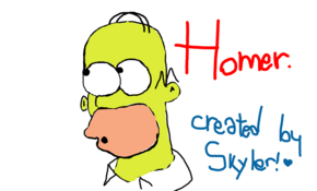 sketch #2797 Homer by Na Ruro