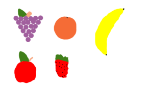 sketch #3010 Fruits