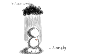 sketch 3359 &#;In love and lonely&#; by Irul Ventura