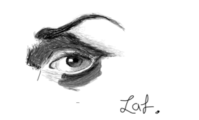 sketch 3558 Eye  Rubel Parvez