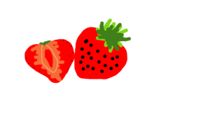sketch #1041 strawberries