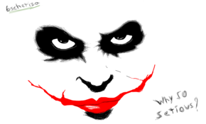 sketch #3736 Why so serious? by Taï Marsan