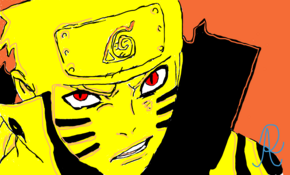 sketch 4503 Naruto Biju Mode by Jessie Lightwood