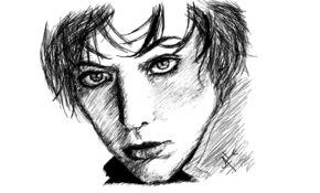 sketch 4874 Milla Jovovich by Kimmy Kitty Perry Priemus