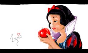 sketch 4948 Snow White by George Lucaz