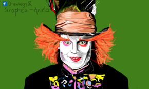 sketch 5069 Mad Hatter by Ahmed Mostafa