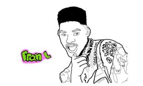 sketch 5270 Fresh prince by Fatér Szilvia