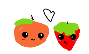 sketch #67806 Strawberry And Orange