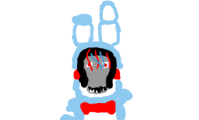 sketch #67885 withered toy bonnie by Dominick Narcisse
