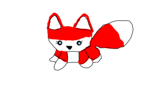 sketch #20311 Cute Red Fox