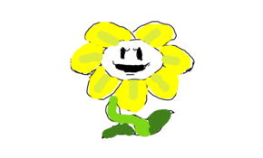 sketch #105132 Flowey the flower
