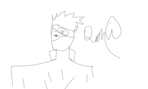 sketch #109747 30 sec drawing challenge of kakashi