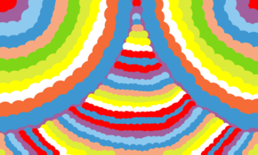 sketch #113544 rainbow art ! my dad made this website xx
