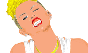 sketch 5131 Miley Cyrus by Vannak Von
