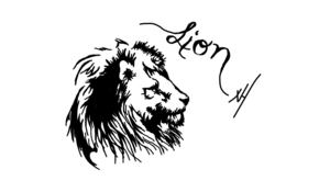 sketch #5095 Lion by Frederic Knauer