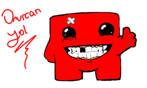 sketch 5173 Super Meat Boy by Zorka Edding Giustinianovic