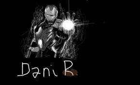 sketch 3155 Iron Man