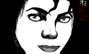 sketch 3732 Michael Jackson by David Obando