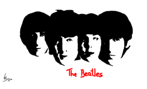 sketch 3769 The Beatles by يآآسر محمد
