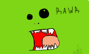 sketch #3908 Rawr! by Timothy Palfreyman