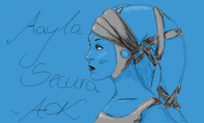 sketch #4834 Aayla Secura by Nînâ Yämâhä