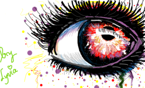 sketch #4857 Eye by Thu Seba Piñeraa