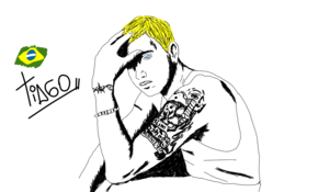 sketch #4974 Eminem by Juan Garcia