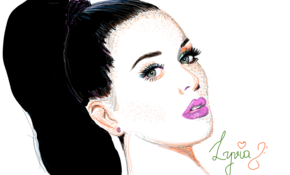 sketch 5212 Katy Perry by Shahid Khokhar