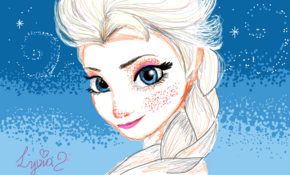 sketch #5223 Elsa from Frozen by Ben De Jesus