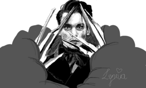 sketch #5236 Edward Scissorhands by Ronin Ronin