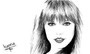 sketch 5308 Taylor Swift by Gabi Ferrari