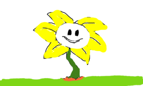 sketch #105183 Hi, my name's Flowey!